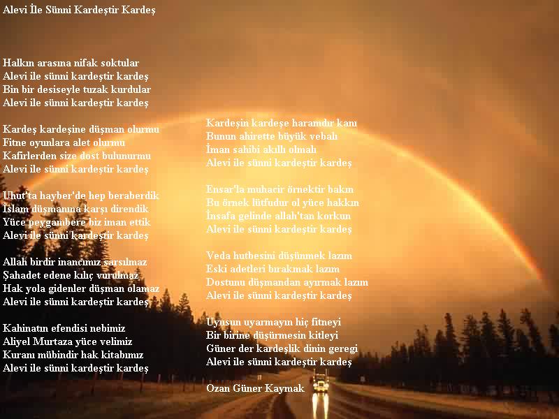 Dostluk Ile Ilgili şiir