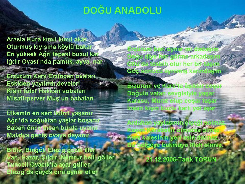 Do�u Anadolu