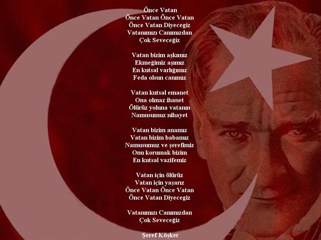 Best Vatan Ile Ilgili şiir Kısa Ve öz Image Collection
